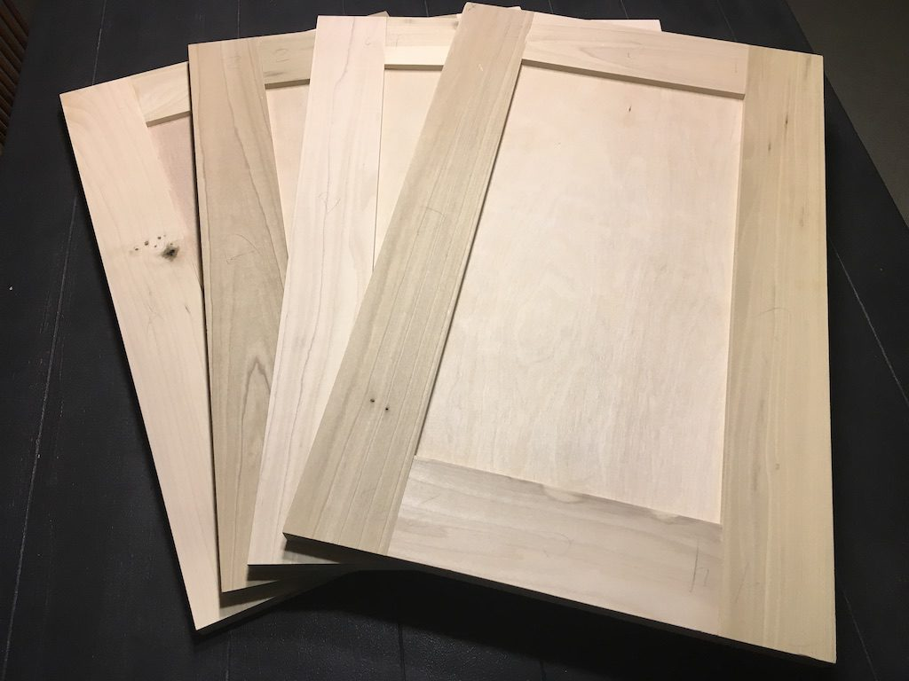 how to build flat panel cabinet doors with your table saw rh woodwork cooperjason com